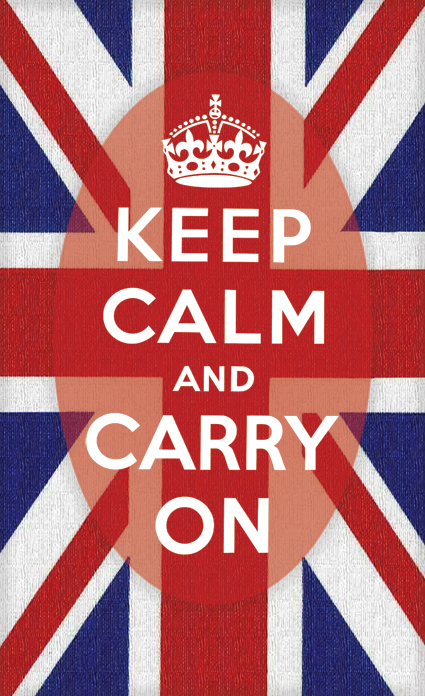 Keep Calm and Carry On in Other Languages