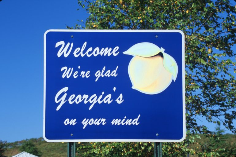 state sign into georgia