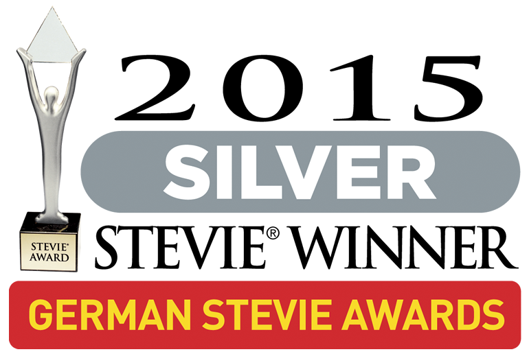 TranslateMedia gewinnt den German Silver Stevie® Award