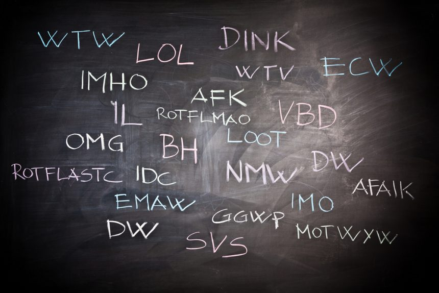 How the Internet is Changing Language
