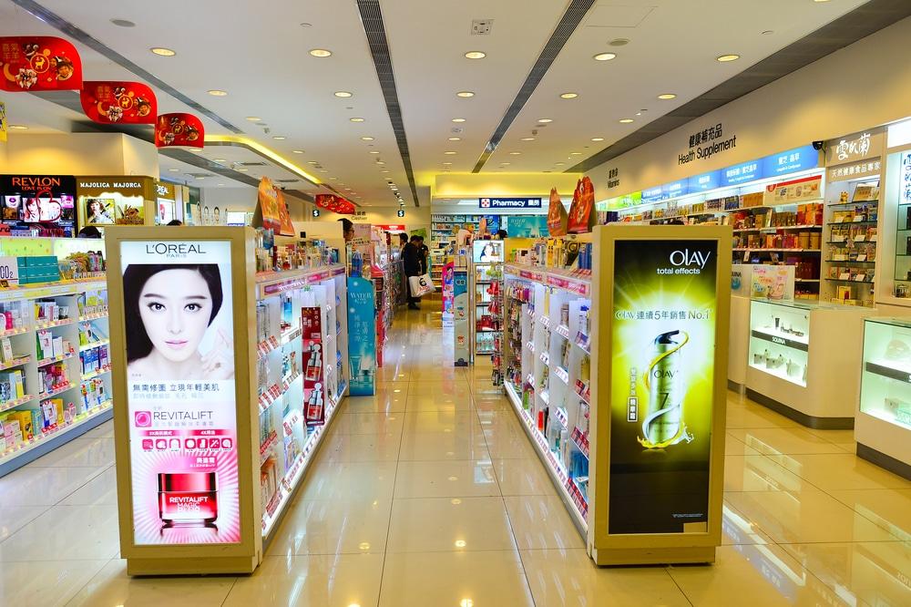 Cosmetics in Asia
