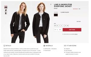 Levi's Unisex jacket
