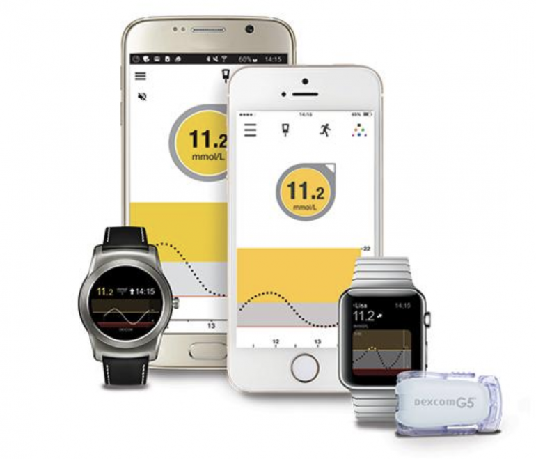 Dexcom G5 Mobile Continuous Glucose Monitoring (CGM) System