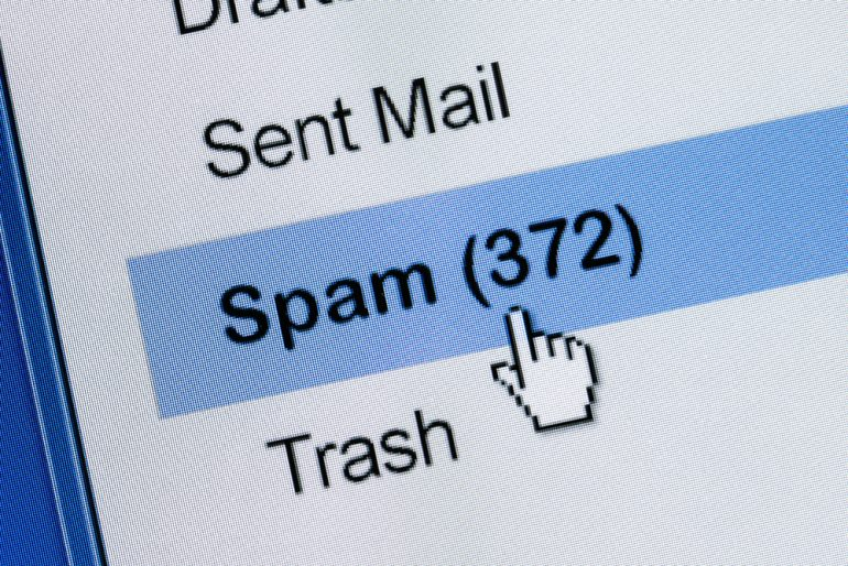 Spam inbox