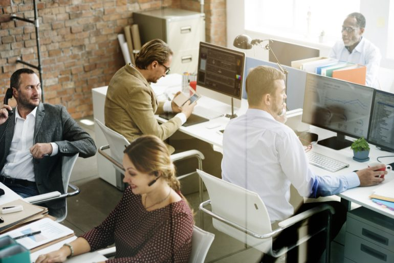 FinTech office
