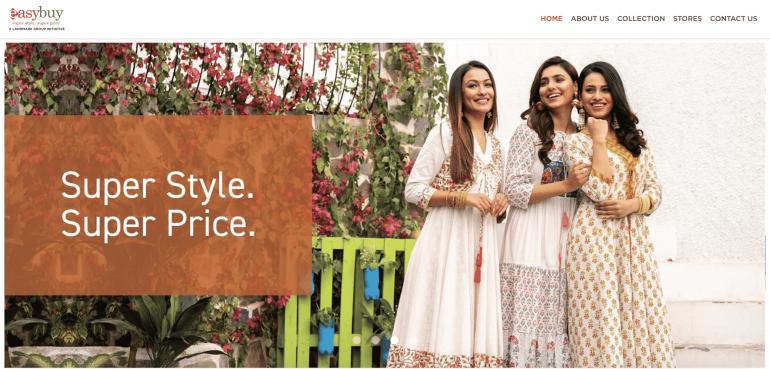 EastBuy India Homepage