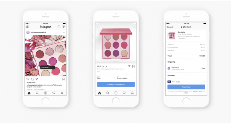 Customer journey on Instagram shopping ads