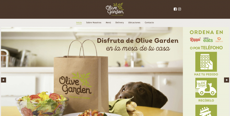 Olive Garden Mexican Spanish Website