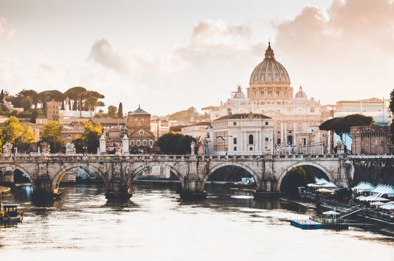 The Vatican City at the Heart of Rome, Italy